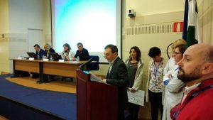 Antonio Núñez junto a su equipo agradece a organizadores y patrocinadores el galardón